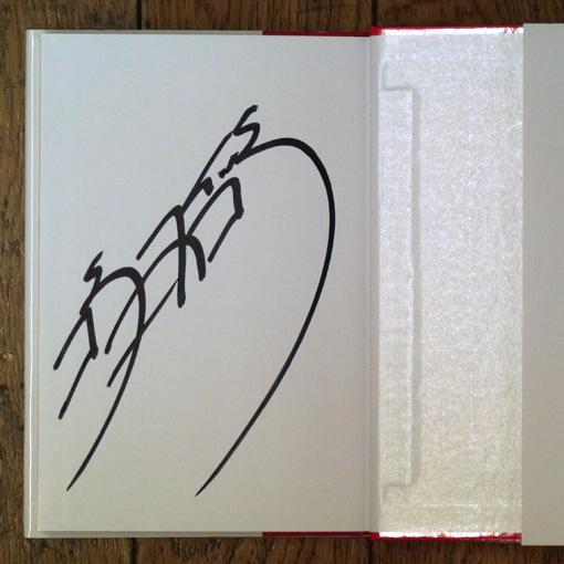杉本彩のサイン本